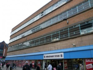 Co-op department store, Derby (23 Dec 2010). Photograph by Graham Soult