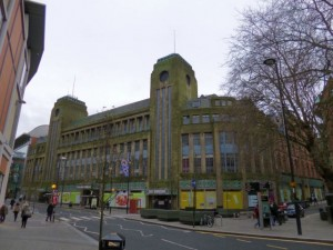 Still-empty ex-Co-operative Group department store in Newcastle (13 Jan 2013). Photograph by Graham Soult