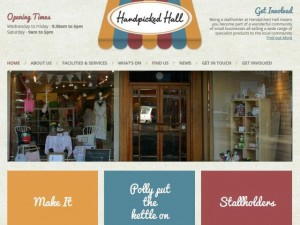Handpicked Hall website (21 Jan 2013)