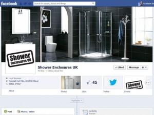 Shower Enclosures UK Facebook Page (30 Jan 2013)