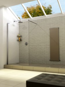 One of Shower Enclosures UK's shower screens. Photograph from SEUK