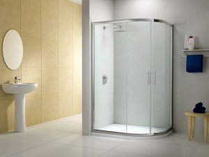One of Shower Enclosures UK's shower enclosures. Photograph from SEUK