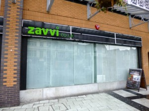 Ex-Zavvi, Cardiff (17 Aug 2012). Photograph by Graham Soult