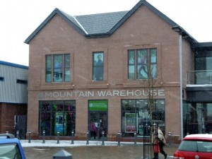 Mountain Warehouse, Penrith (13 Feb 2013). Photograph by Graham Soult
