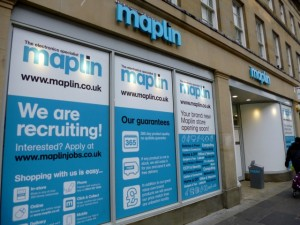 New Maplin, Grainger Street, Newcastle (3 Mar 2013). Photograph by Graham Soult