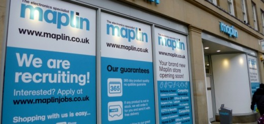 New Maplin, Grainger Street, Newcastle (3 Mar 2013). Photograph by Graham Soult