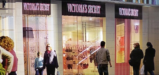 Poster showing Victoria's Secret at Monument Mall, Newcastle (3 Mar 2013). Photograph by Graham Soult