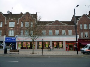 Former Woolworths (now Iceland), The Broadway, Greenford (10 Feb 2012). Photograph by Graham Soult