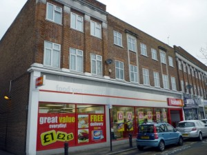 Former Woolworths (now Iceland), Sudbury Hill (10 Feb 2012). Photograph by Graham Soult