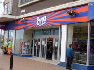Former Woolworths (now B&M Bargains), Rhyl (25 Sep 2009). Photograph by Graham Soult