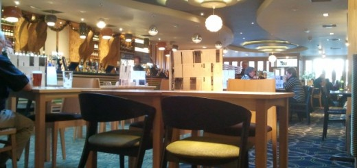 Inside former Woolworths (now Wetherspoon's), Prestwick (21 Nov 2012). Photograph by Graham Soult