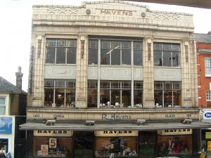 Frontage of Havens, Westcliff-on-Sea (24 Sep 2010). Photograph courtesy of Havens