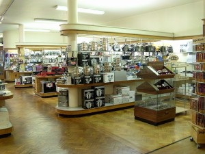 Housewares department at Havens, Westcliff-on-Sea (24 Sep 2010). Photograph courtesy of Havens