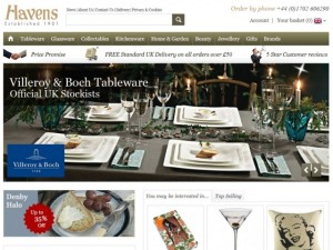 Havens website (22 Apr 2013)