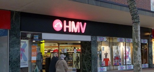 HMV, Solihull (22 Feb 2013). Photograph by Graham Soult