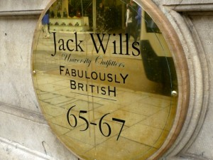 Jack Wills, Exeter (9 Sep 2011). Photograph by Graham Soult