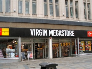 Former Virgin Megastore, Newcastle (15 Oct 2007). Photograph by Mankind 2k