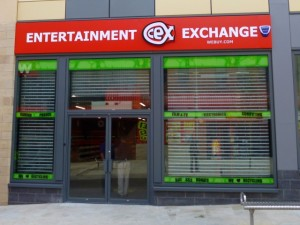 New CeX store, West Street, Gateshead (17 May 2013). Photograph by Graham Soult