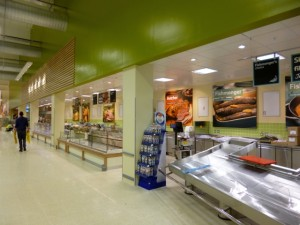 Fresh counters at Tesco Extra, Gateshead (17 May 2013). Photograph by Graham Soult