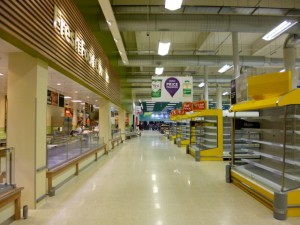 Tesco Extra, Gateshead (17 May 2013). Photograph by Graham Soult