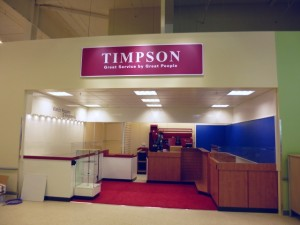 Timpson at Tesco Extra, Gateshead (17 May 2013). Photograph by Graham Soult