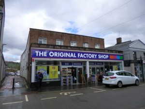 The Original Factory Shop (former Woolworths), Dingwall (11 May 2013). Photograph by Graham Soult