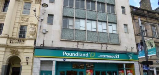 Poundland (former Woolworths), Inverness (4 May 2013). Photograph by Graham Soult