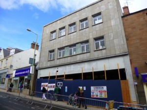 Soon-to-be Wetherspoon's (former Woolworths), Blairgowrie (11 May 2013). Photograph by Graham Soult