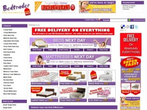 Bedtrader homepage (6 Jun 2013)