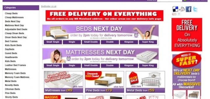 Bedtrader homepage (6 Jun 2013)