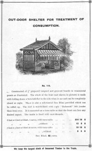 Waltons Victorian summerhouse advert. Image courtesy of Waltons