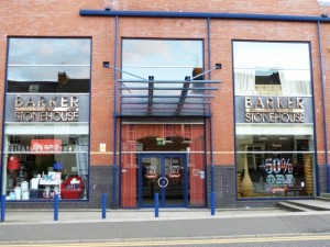 Barker and Stonehouse store in Newcastle (18 Jun 2012). Photograph by Graham Soult