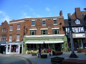 Popular independent eatery Bistro Jacques in Shrewsbury (10 Jun 2013). Photograph by Graham Soult