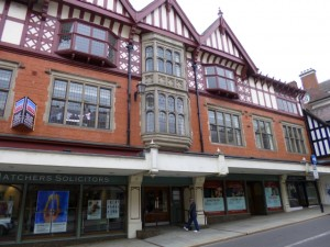 Former Co-op building in Shrewsbury (10 Jun 2013). Photograph by Graham Soult