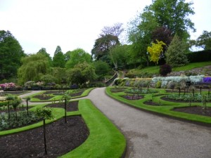 The Dingle in The Quarry, Shrewsbury (10 Jun 2013). Photograph by Graham Soult