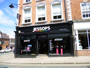 ...but the Jessops branch in Shrewsbury's Mardol is now open again (10 Jun 2013). Photograph by Graham Soult