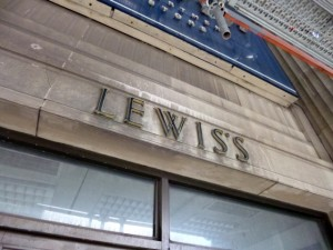 Former Lewis's, Liverpool (11 May 2012). Photograph by Graham Soult