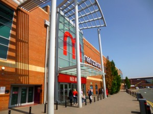 Metrocentre Red Mall entrance - pre-Intu (11 Jul 2013). Photograph by Graham Soult