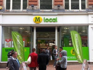 Morrisons M Local, New Street, Birmingham (28 Jun 2013). Photograph by Graham Soult