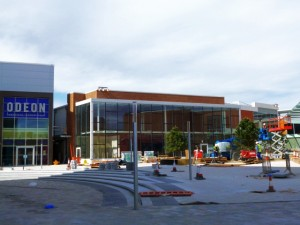 New Square, West Bromwich, photographed a week ago (29 Jun 2013). Photograph by Graham Soult