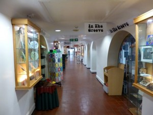 Inside the Parade Shopping Centre in Shrewsbury (10 Jun 2013). Photograph by Graham Soult