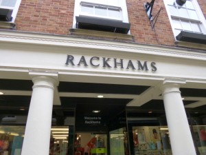 Rackhams (House of Fraser) in Shrewsbury (10 Jun 2013). Photograph by Graham Soult