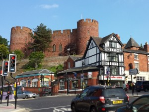Shrewsbury Castle (9 Jun 2013). Photograph by Graham Soult