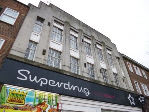 Superdrug, Morden, London (1 Mar 2013). Photograph by Graham Soult