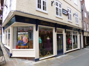 Templeton Jones, one of Shrewsbury's independent fashion retailers (10 Jun 2013). Photograph by Graham Soult