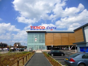 New Tesco Extra, Sunderland (6 Jul 2013). Photograph by Graham Soult