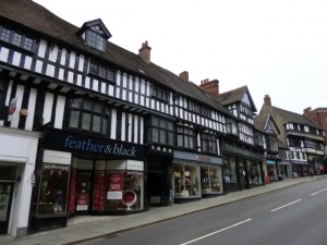 Shrewsbury's historic Wyle Cop (10 Jun 2013). Photograph by Graham Soult