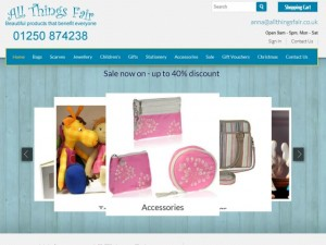 All Things Fair website (31 Aug 2013)