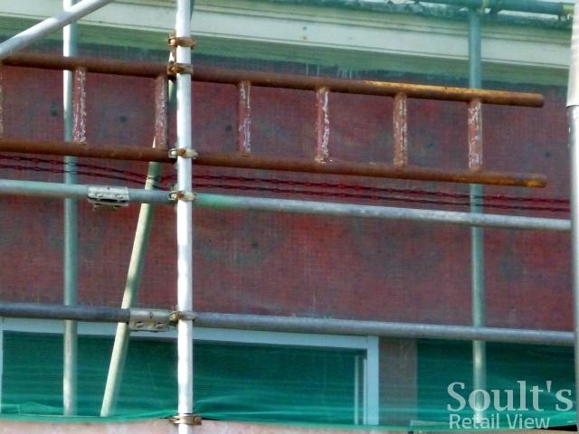 Old Woolies fascia exposed as Byker Wetherspoon's readies
