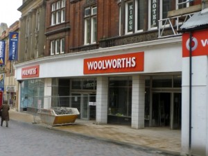 Darlington's Woolworths prior to Next moving in (12 Mar 2010). Photograph by Graham Soult